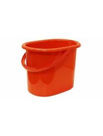(52400) М2422 Ведро овальное 11л Оранжевый (10)