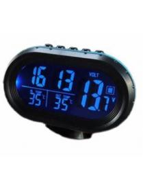 VST7009V часы авто (температура, будильник, вольтметр)