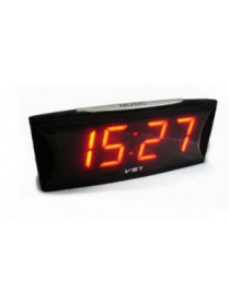 VST719-1 часы 220В крас.цифры/30