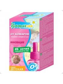 КОМАРИКОФФ Жидкость детская От комаров 45 ночей, 30мл