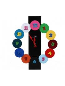 """Pomi d""""Oro T4412-K c объёмными цветными цифрами, без мелодий, круглые, d=44с"""