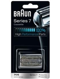 Braun 70b Бритвенная кассета 7 серии silver к моделям бритв Pulsonic black