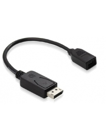 GC-CVDP08 Переходник Apple mini Displayport на Displayport DP[гнездо]/ DP[штекер], 20 см