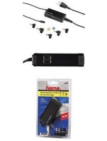 Hama H-54105 универсальный для нетбуков 5 разл.разъемов 50Вт 12-19В