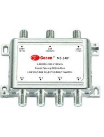 Мультисвитч радиальный Gesen MS-3401