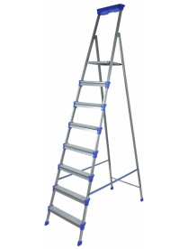 (53381) Стремянка широкие 8 ступеней (металл) СМ8