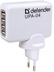 З/У DEFENDER UPA-04 -4порта USB 83521