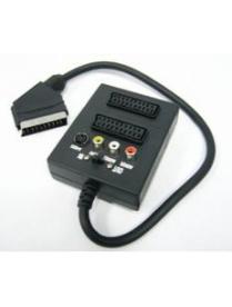 Переходник SCART-2 SCART+3RCA+S-VHS (Орбита TD-212)/10/100