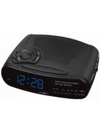 VST906-5 часы 220В + радио син.цифры