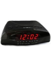 VST905-1 часы 220В + радио крас.цифры