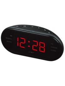 VST902-1часы 220В + радио крас.цифры