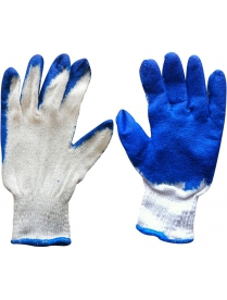 001060 Перчатки хозяйственные PARK EL-S001, размер 10 (XL), цв. - син., оранж.