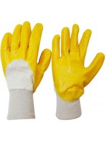 001064 Перчатки хозяйственные PARK EL-N301Y, размер 10 (XL), цв. желтый