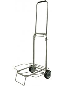 093519 Тележка BMC-06LS хромированная, металлич. колеса (35кг)