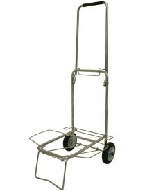 093521 Тележка BMC-11LS хромированная, металлич. колеса (40кг)