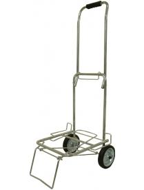 093522 Тележка BMC-12LS хромированная, металлич. колеса (70кг)