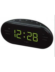 VST902-2 часы 220В + радио зел.цифры