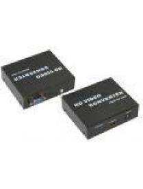 17-6908 Конвертер HDMI на VGA + 3.5 mm Аудио REXANT