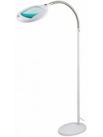 31-0512 Лупа напольная 3Х с подсветкой 60 LED, белая REXANT