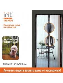 IRIT IRG-600 Москитная сетка на магнитах 210*100 см без рисунка