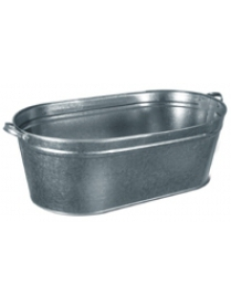(02939) Ванна хоз. 60л оцинков. (Лысьва)