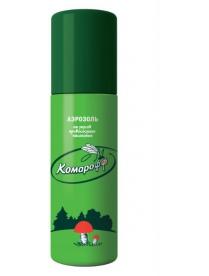 КОМАРОФФ Аэрозоль от комаров 150мл (на кожу)