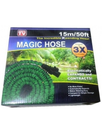 Шланг эластичный Magic Hose в оплетке 15м.
