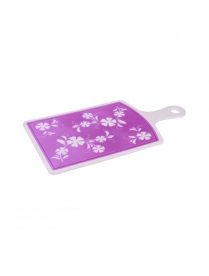 (62181) М2907 Доска разделочная Камелия маленькая фиолетовая