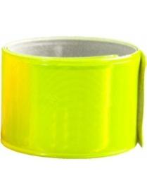 Светоотражающий браслет самозахватывающий, желтый SV-15