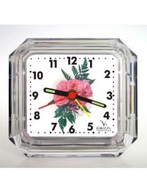 Будильник Б2-004 Розовый цветок