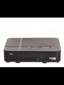 Эфир DVB-T2 HD T34