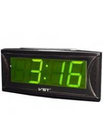 VST719-2 часы зелёные цифры