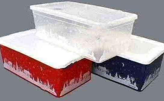 Изделия коробки из пластик