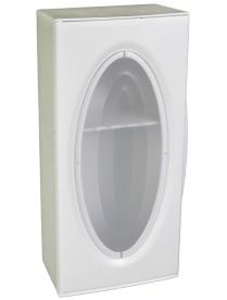 (61262) Шкафчик Флори (снежно-белый) АС11701 (8)