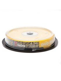 Диск DVD+RW 4.7Gb 4x Slim Intro