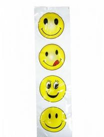 Стикер LD-LED наклейка смайл 1 шт