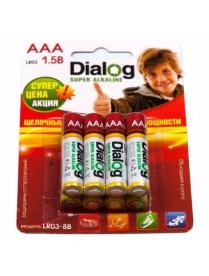 286 Dialog alkaline LR03
