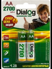AA Dialog 2700mAh