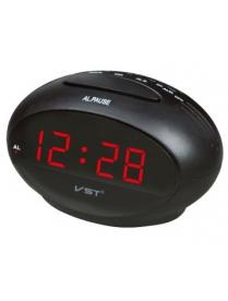 VST711-1 часы 220В крас.цифры