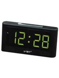 VST732-2 часы зелёные цифры