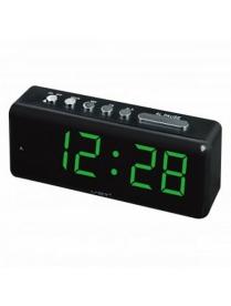 VST762-2 часы зелёные цифры