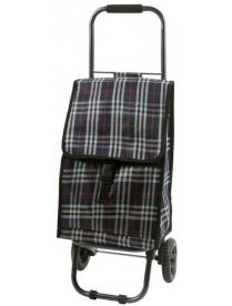 "002250 Тележка с сумкой D203ECO ""Tartan"", 30 кг"