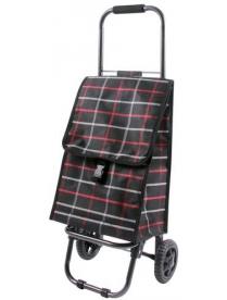 "002251 Тележка с сумкой D203ECO ""Brown"", 30 кг"