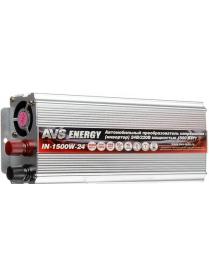 AVS Автомо инверт 24/220V IN-1500W-24
