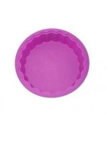 (74339) Форма для выпечки силиконовая Круг фигурный 27,5*6,2см (KT-S-311)