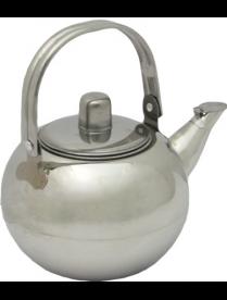 (74344) Чайник 1,0л. заварник с ситечком (AST-002-ЧС-10)