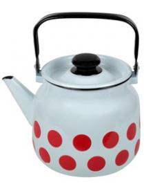 Чайник 3,5л Горох красный 2713П2/4Рч
