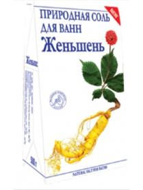 """(74802) """"Женьшень"""" природная соль для ванн 500 г"""