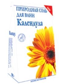 """(74803) """"Календула"""" природная соль для ванн 500 г"""