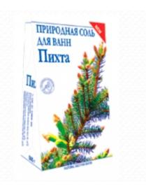 """(74804) """"Пихта"""" природная соль для ванн 500 г"""